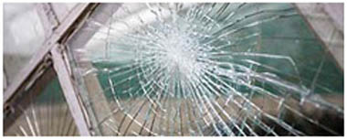Houghton Regis Smashed Glass